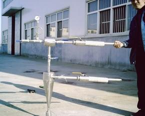煤粉取样装置设备调试中
